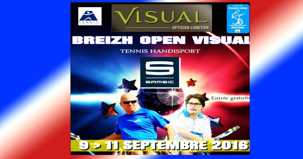 Breizh Open VISUAL Tennis Handisport